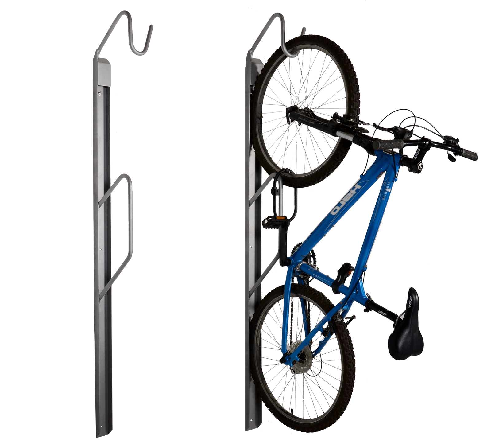 Urban Space Wall Mount Bike Rack Wishbone Site Furnishings
