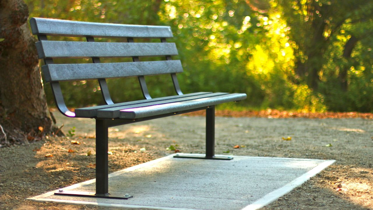 Standard Park Bench Wishbone Site Furnishings