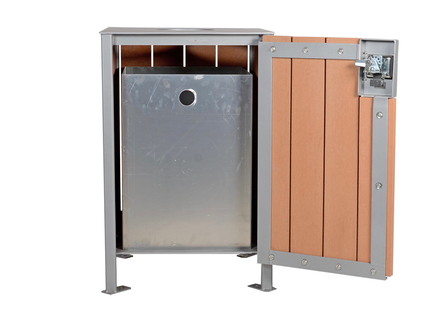 Witt Industries Confidential Waste Receptacle With Lock And Key Almond 765152149 P in addition 6 In 1 Infection Control Kiosk besides 77 further Modena Square Top Waste Receptacle additionally S 1025258. on lockable trash receptacle
