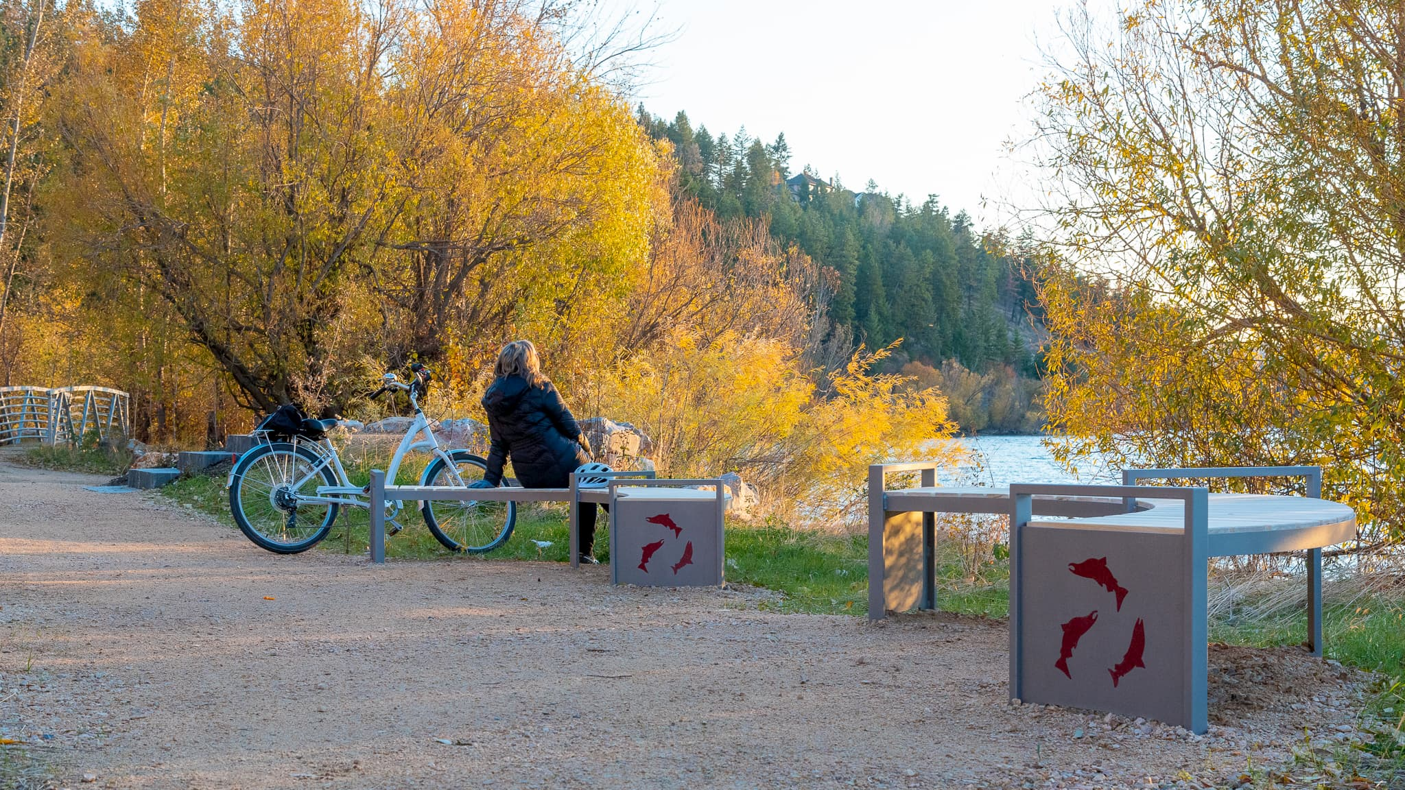 Okanagan Rail Trail Interpretive Sites in the Interior of British Columbia