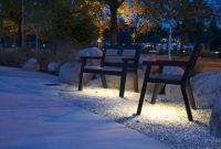 -Wishbone LED Rutherford 3 Ft Benches in Olympia Washington
