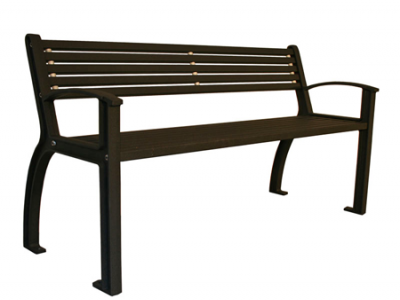 Beselt Park Bench - All Metal