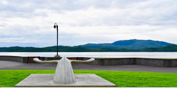 Concrete Whale Tail in Prince Rupert BC (2)