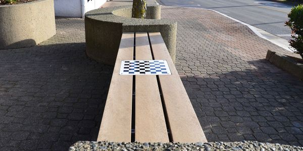 Custom-Inset-of-a-Chess-Board-on-a-Wall-Seat