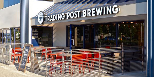 Custom-Larson-Benches-at-Trading-Post-Brewing-in-Langley-BC