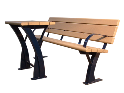 Parker Bench and Table Combo
