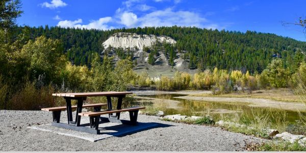 Produits Replast Park Series Picnic Table in Invermere BC