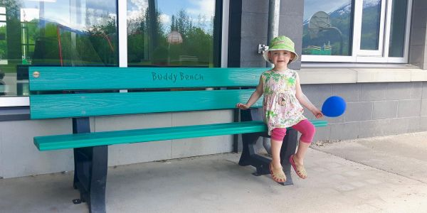 Re-plast-Deco-Buddy-Bench-in-Revelstoke-BC-(1)