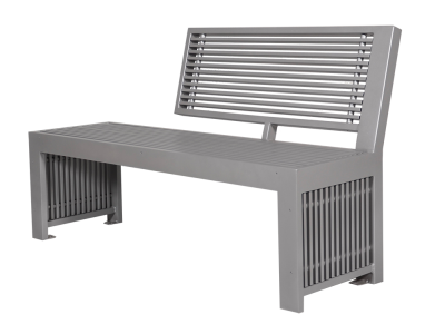 Urban Form Park Bench - All Aluminum
