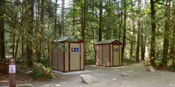 Wheel-Chair-Accessible-Pit-Toilets-at-Little-Qualicum-Falls-Provincial-Park