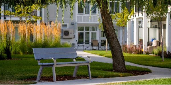 Wishbone Aylesbury Bench with Armrests in Saanich BC