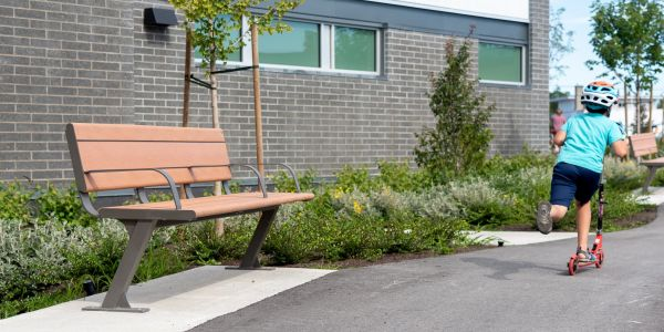 Wishbone Custom Bayview Plus Bench at the Summit at Quadra Village in Victoria BC-2