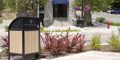Wishbone Freedom 32 Bear Proof Waste Receptacle in Rossland BC