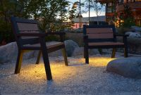 Wishbone LED Wide Body Rutherford 3 ft Benches in Olympia Washington