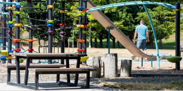 Wishbone Rutherford Childrens Picnic Table in Saanich BC