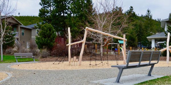 Wishbone-6-ft-Bayside-Park-Benches-in-Lake-Country-BC