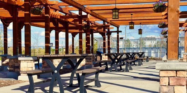 Wishbone-BayView-Picnic-Tables-at-Chappelle-Gardens-Subdivision-in-Edmonton-Alberta-(2)