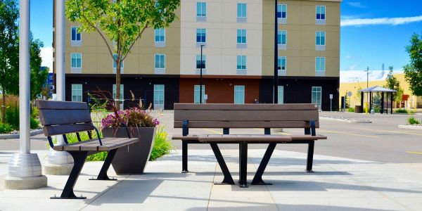 Wishbone-Bayview-Benches-and-Coffee-Table-at-Union-Healthcare-Professionals-in-Edmonton-Alberta