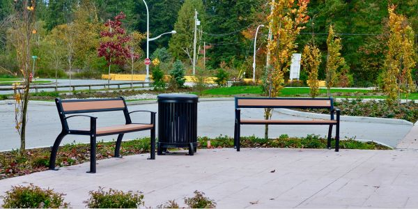Wishbone-Beselt-Benches-and-Waste-Receptacles-in-Surrey-BC