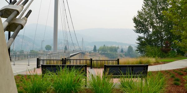 Wishbone-Rutherford-Angled-Leg-Benches-at-the-Columbia-River-Skywalk-in-Trail-BC
