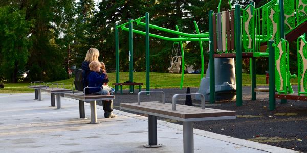 Wishbone-SurRe-Straight-Benches-at-Crestwood-Park-in-Edmonton-Alberta