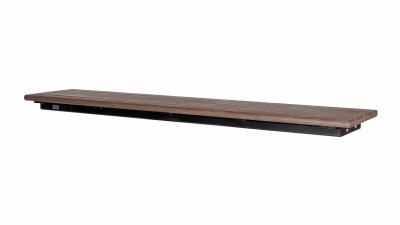 Bayview Backless Wall Top Bench
