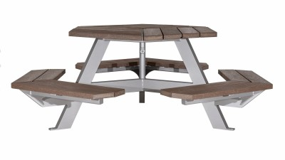 Bayview Hexagonal Picnic Table