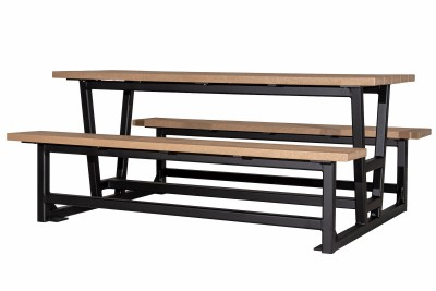 Rutherford Heavy Duty Free Standing 6 ft Picnic Table